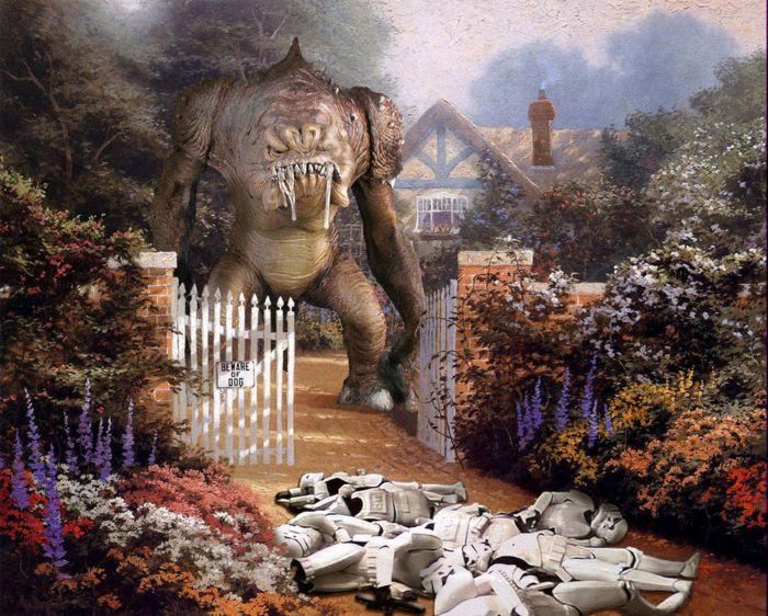 Художник Thomas Kinkade и Звездные войны