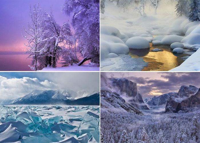 Сказочные зимние пейзажи
