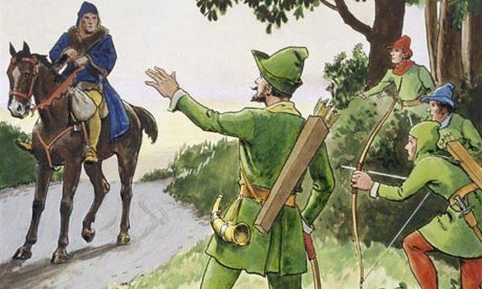 Герой легенд и преданий Робин Гуд