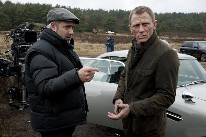 Трижды Джеймс Бонд Дэниел Крэйг на съёмочной площадке фильма 007. Координаты: Скайфолл.