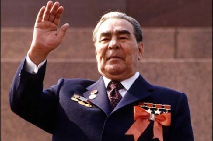 Леонид Ильич Брежнев - символ эпохи застоя.