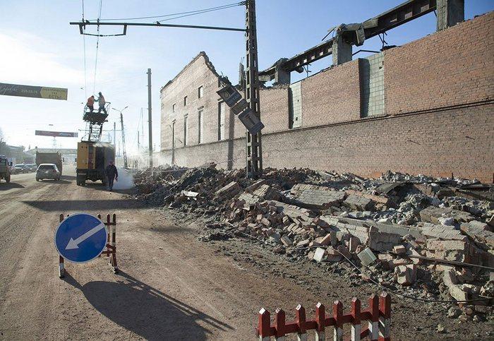 Челябинск после взрыва метеорита