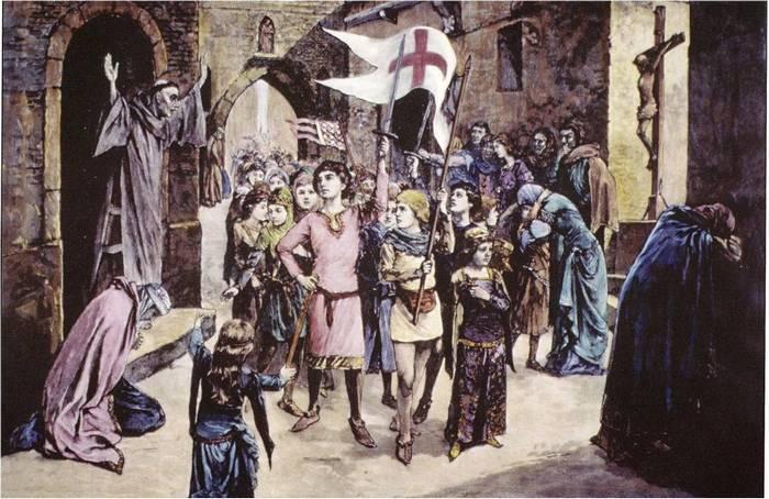 Крестовый поход 1212 года: в бой идут дети