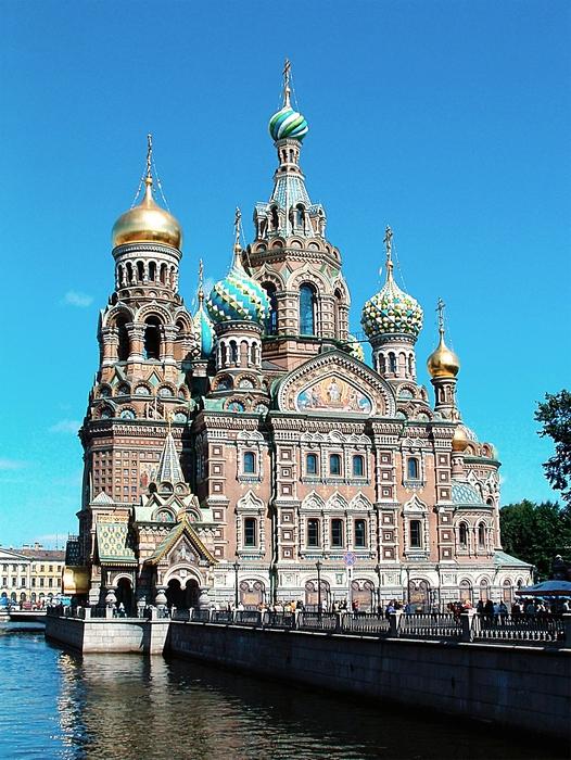 Храм Спаса-на-крови в Санкт-Петербурге.