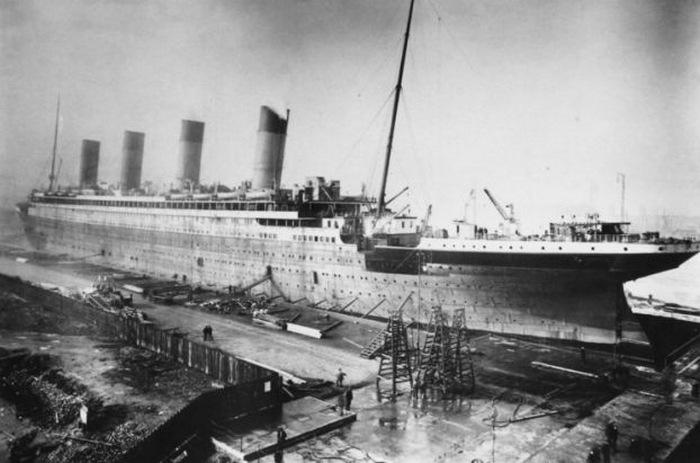 Строительство Титаника.