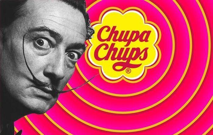 Сальвадор Дали - создатель логотипа Чупа-Чупс.