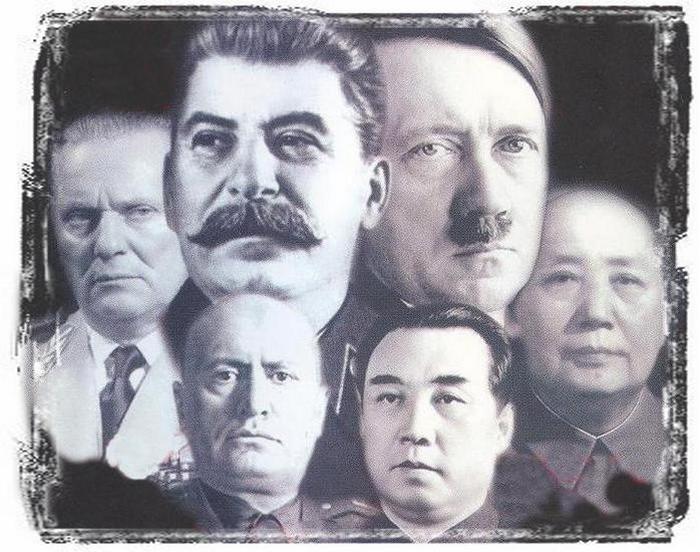 Великие диктаторы.