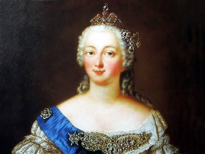 Портрет императрицы Елизаветы Петровны.