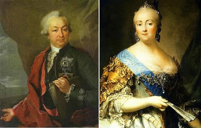 Алексей Разумовский и Елизавета I.