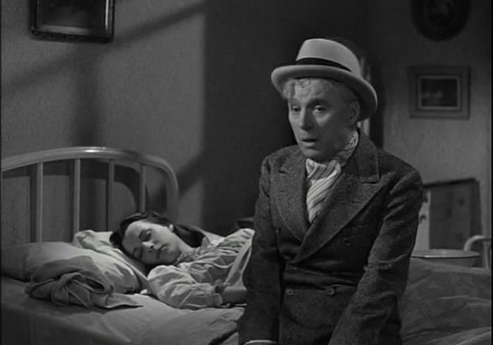 Ainda a partir do filme Limelight.  Chaplin como Culver.