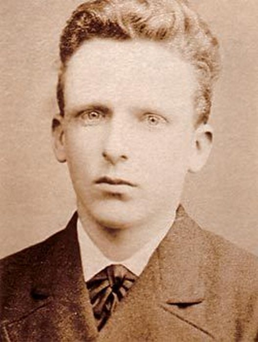 Винсент Ван Гог (фото 1873 года).