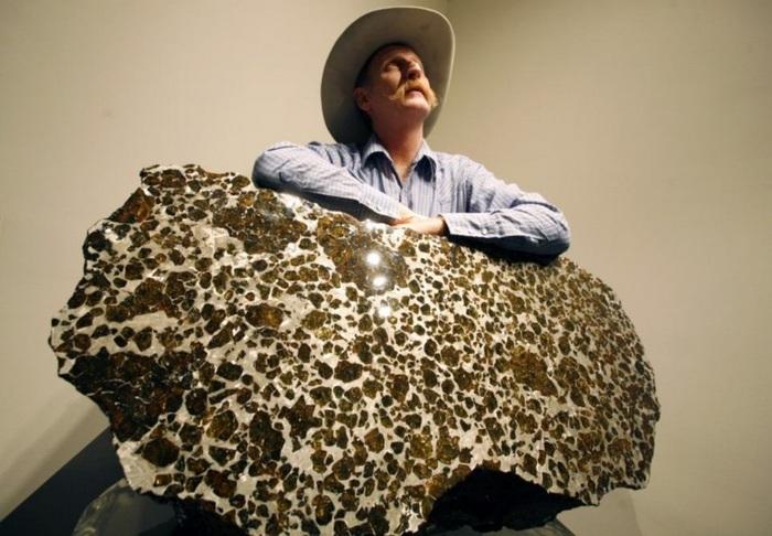 Метеорит Фукан - самый красивый метеорит, упавший на Землю