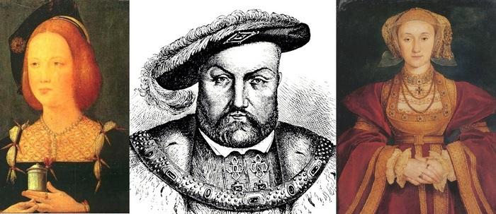 Екатерина Арагонская, Генрих VIII Синяя Борода, Анна Клевская.