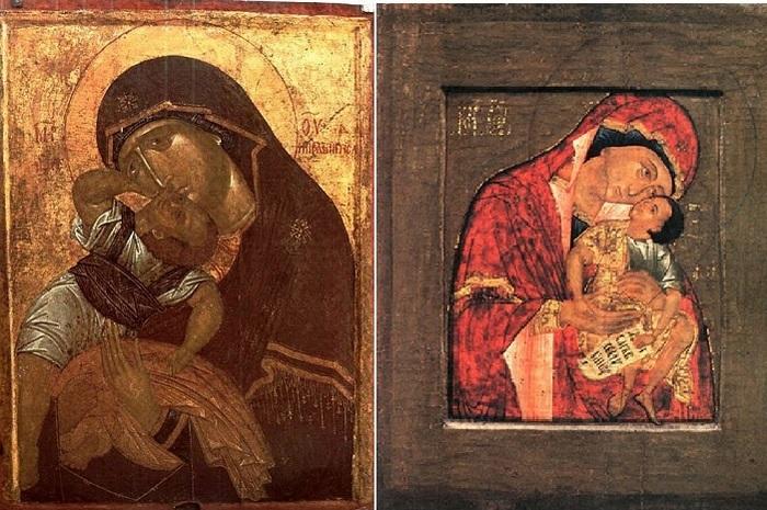 Икона Божьей Матери «Взыграние Младенца»