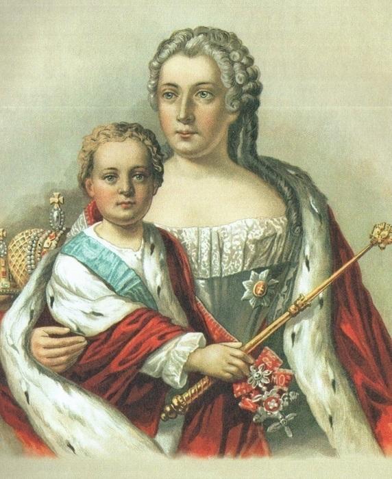 Малолетний Император Иван VI.