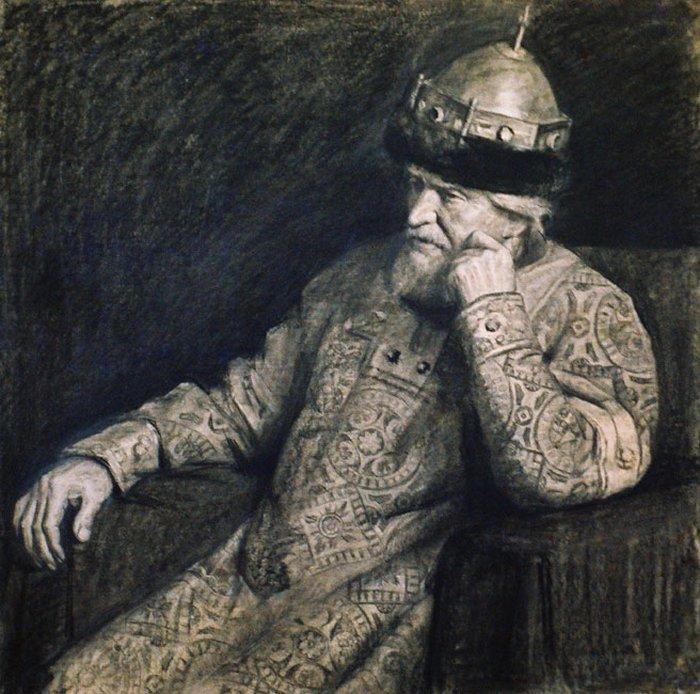 Иван Грозный. Картина Игоря Панова