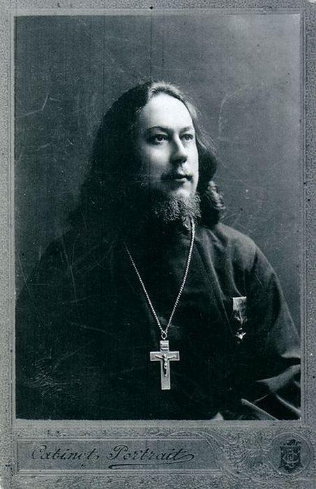 Протоиерей Иоанн Кочуров. Фото 1910-х гг.