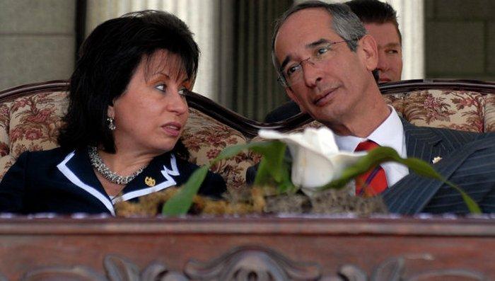 Альваро Колом и Сандра Торрес.