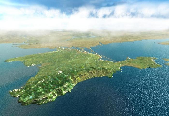 Полуостров Крым.