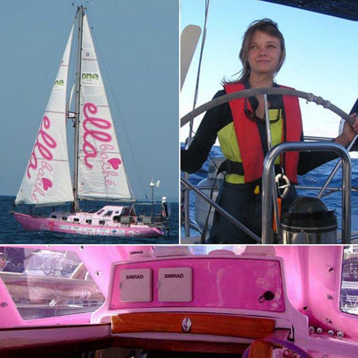 Джессика Уотсон - самая юная мореплавательница, совершившая кругосветку.