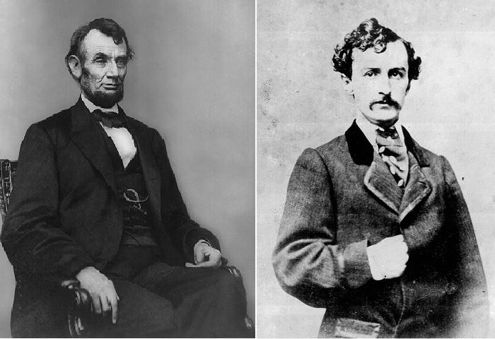 Авраам Линкольн и Джон Уилкис Бут