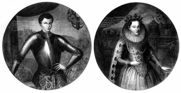 Лжедмитрией I и Мария Мнишек.