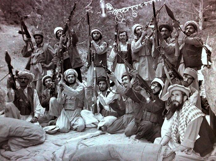 Афганские моджахеды.