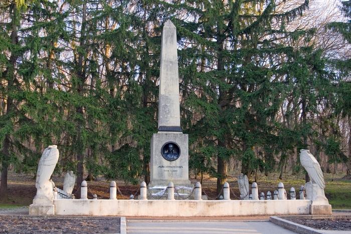 Памятник установленный на месте гибели М.Ю.Лермонтова.
