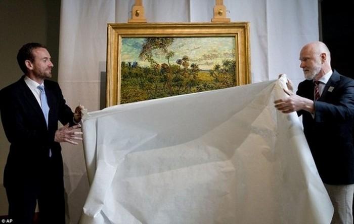 Закат в Монмажуре. Ван Гог. (1888).