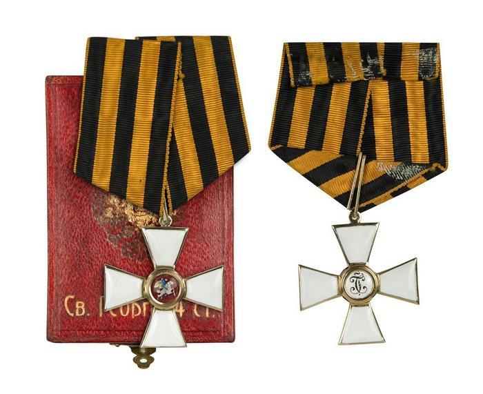 Орден Святого Георгия, утверждённый Екатериной II.