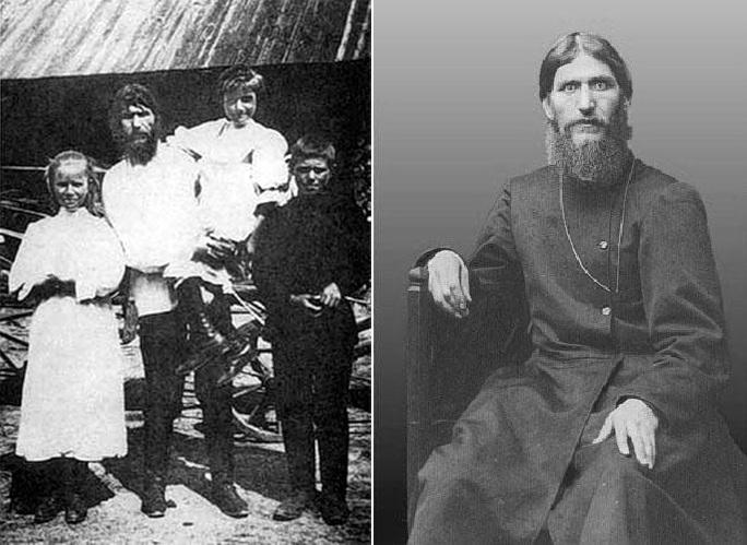Григорий Распутин и его дети. Начало 1990-х.