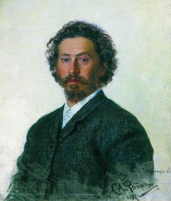 Илья Репин. Автопортрет.