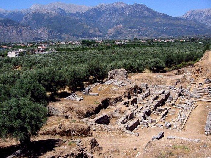 Раскопки Древней Спарты