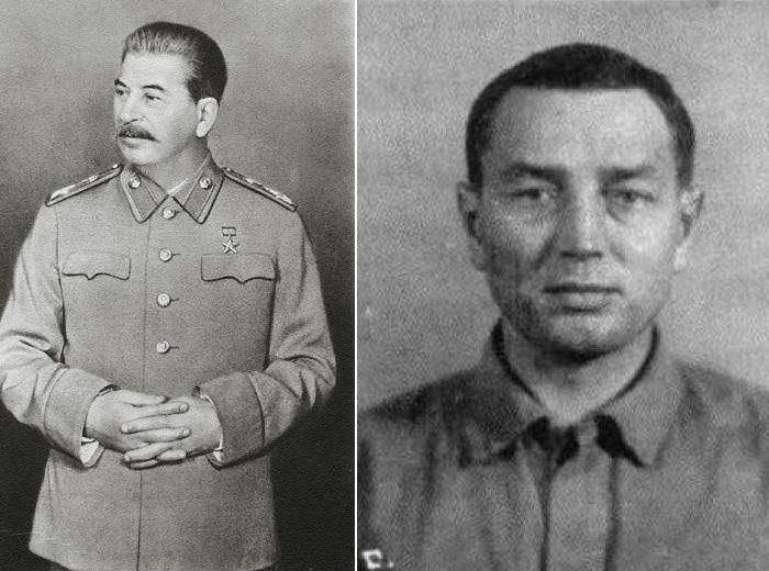 Сталин и Савелий Дмитриев