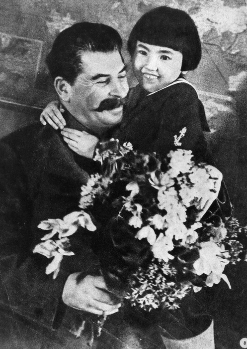 Спасибо товарищу Сталину за наше счастливое детство!