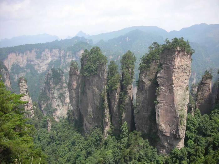 Китайские горы Юлинъюань - прообраз Летающих гор Пандоры.
