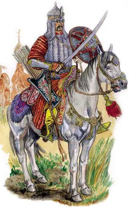Конный воин Крымского ханства.