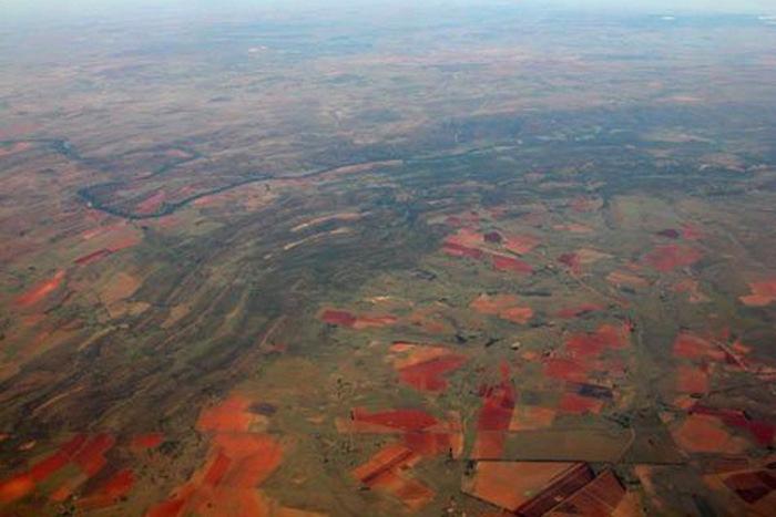Кратер Вредефорт - крупнейший след метеорита на Земле