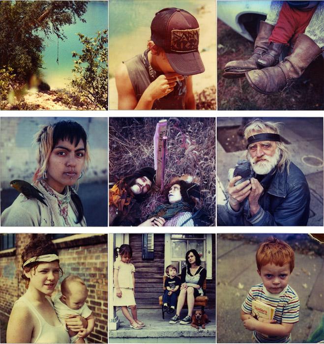 Первые снимки Броди, появившиеся в Интернете, были сделаны на Polaroid SX-70