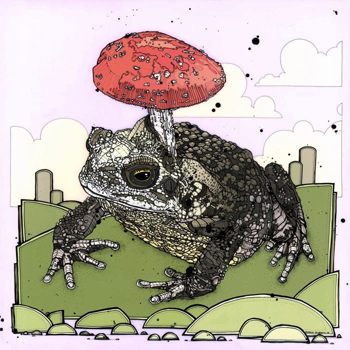 Иллюстрации Николя Ди Женовы (Nicholas di Genova)
