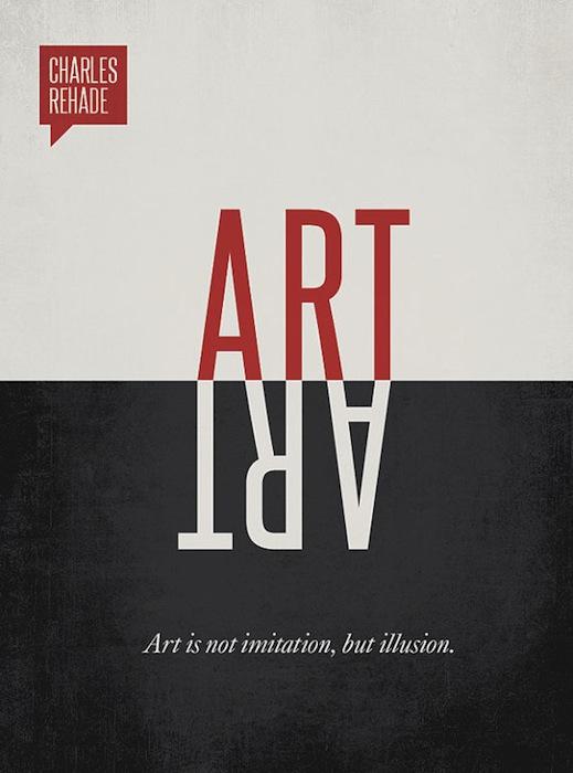 Чарльз Рехейд: «Искусство – это не иммитация, а иллюзия»