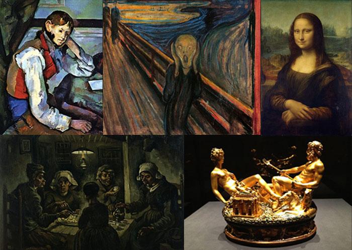 5 громких краж произведений искусства