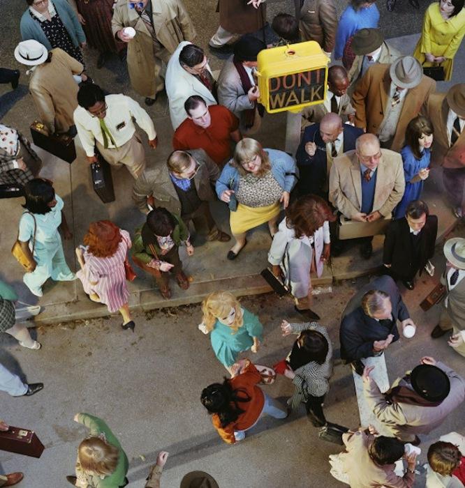 «Лицо в толпе»: пешеходы