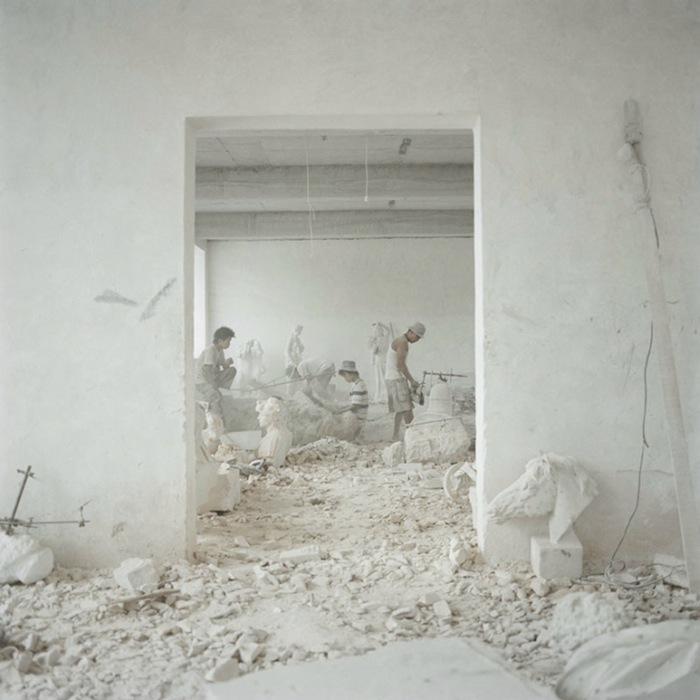 «Деревня скульпторов»: репортажная фотография Кьяры Гойи (Сhiara Goia)