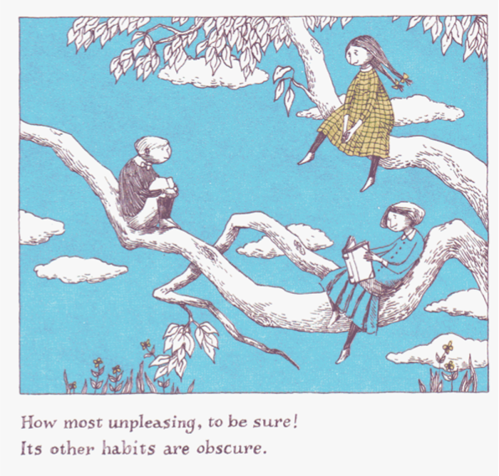 Из книги «Вагли Умп» («The Wuggly Ump») Эдварда Гори