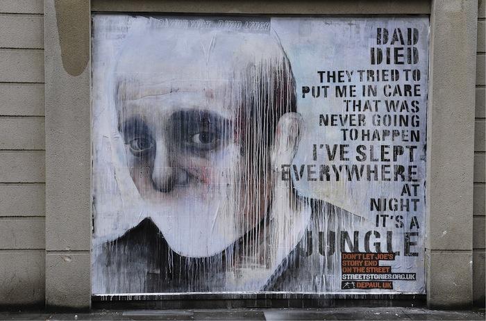 Бен Слоу. Папа умер/ они попробовали отправить меня в приют/ это не должно было произойти/ я спал везде/ ночью это джунгли
