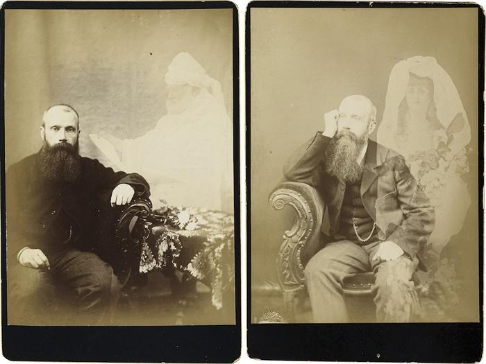 Фотографии с призраками 1895-96 годов на аукционе Свон