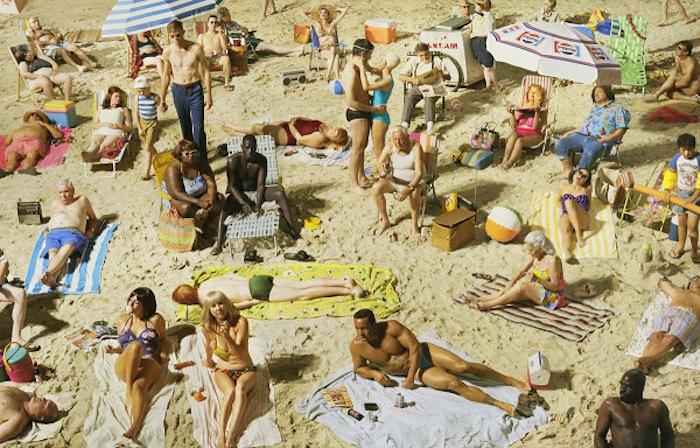 Пляж. «Лицо в толпе» Алекс Прэйгер
