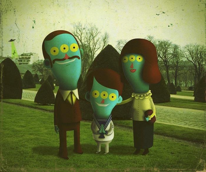 Счастливое семейство