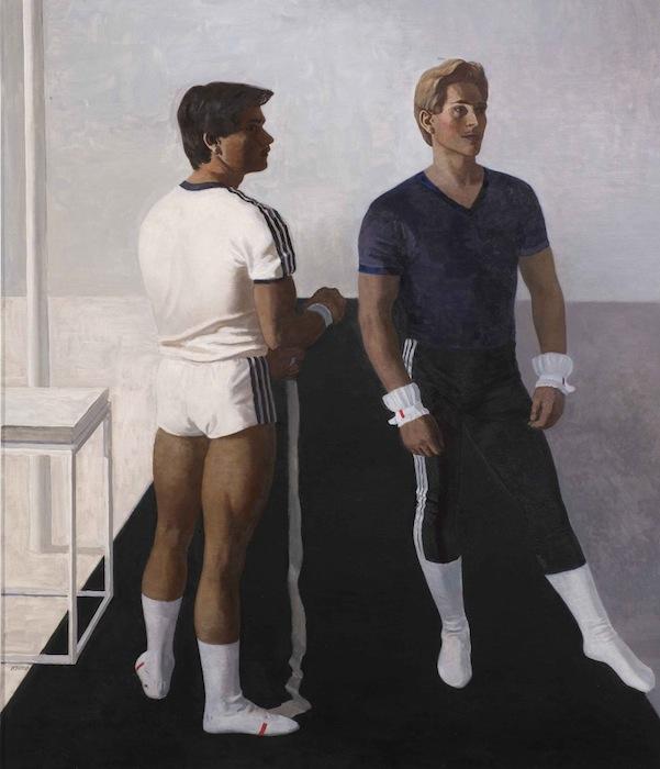 Михаил Изотов, Гимнасты. Портрет Владимира Артёмова и Юрия Королёва, 1987